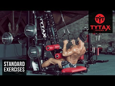 TYTAX® M1 | Seated Cable Pulldown (Stirrups)