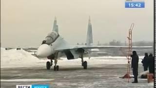 Партию истребителей Су-30 СМ отправили из Иркутска в Курскую область
