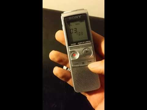 Sony ICD-BX700 Digital Voice Recorder 1GB Mp3