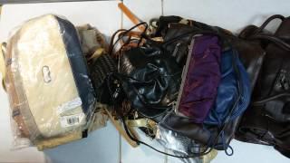 Handbags Extra mix - сумки женские без износа либо с миним., первый пакет, 10.4кг, 24шт, 11,7евро/кг