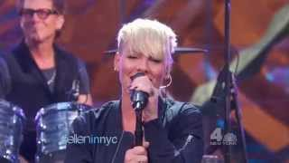 "Pink performs ""Today's The Day"" on Ellen (Sept 10th 2015)"