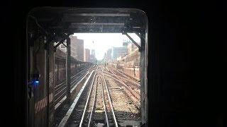 NYC Subway HD 60fps: Bombardier R62A 1 Train Railfan Cab Window (242nd St - 14th St) 9/10/16
