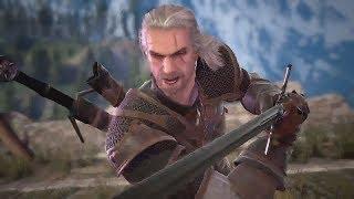 SOULCALIBUR 6 Geralt Boss Fight (SoulCalibur VI Geralt Boss Fight)