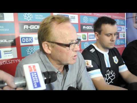 Konferencja prasowa po meczu Stomil Olsztyn - Termalica Bruk-Bet Nieciecza