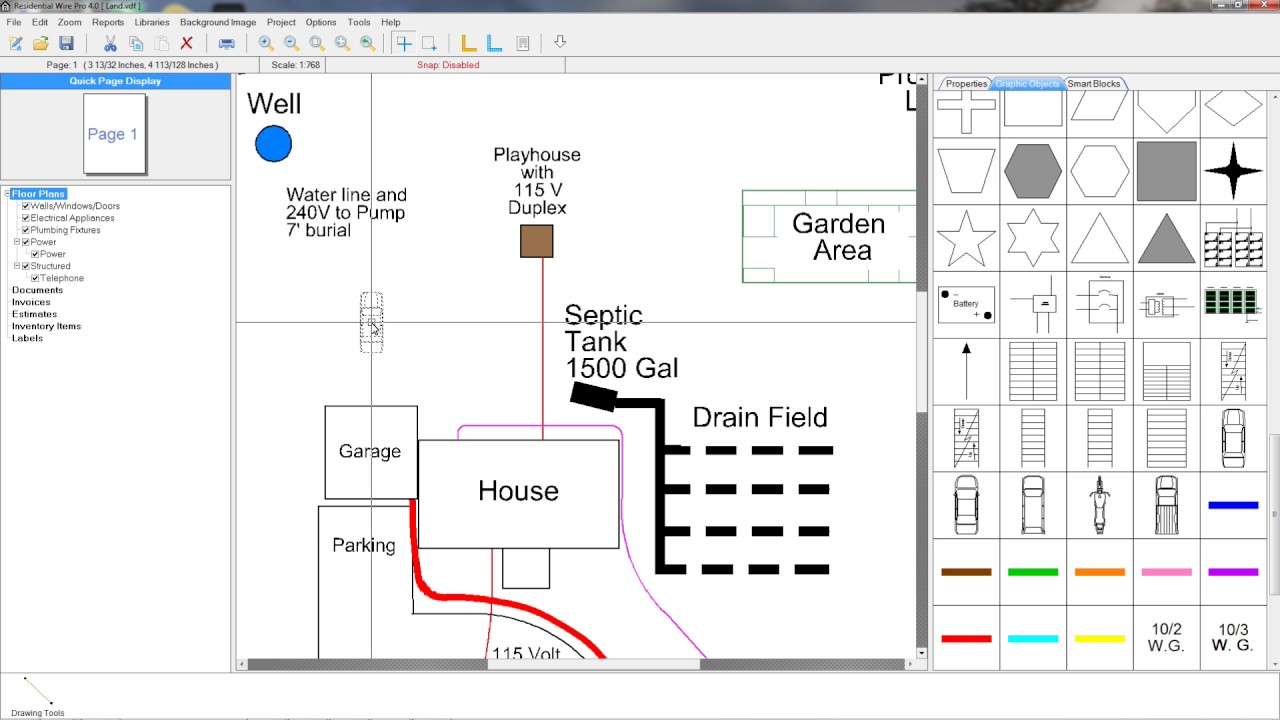 small resolution of learn all about the powerful features of the residential wire pro 4 for designing floor plans and documenting all types of wiring run time 2 36