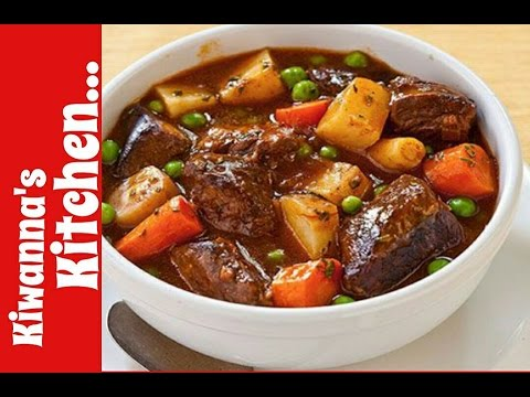 Easy Hearty Beef Stew Recipe (HOW TO MAKE HOMEMADE BEEF STEW)