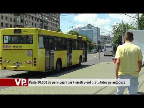 Peste 10.000 de pensionari din Ploiești pierd gratuitatea pe autobuze