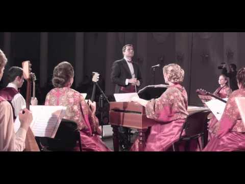 """Георгий Свиридов. """"Метель"""". """"Russian Style"""" Folk Orchestra. G. Sviridov - Snowstorm"""