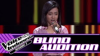Sofie - Turning Tables | Blind Auditions | The Voice Kids Indonesia Season 3 GTV 2018