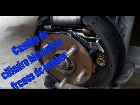 Cambio de cilindro frenos de tambor y mantenimiento general (muy bien explicado)