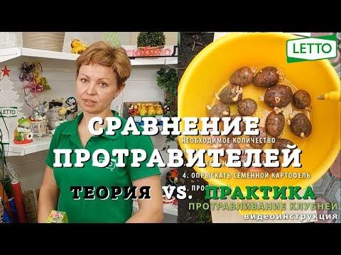 Протравливание картофеля - ВИДЕОИНСТРУКЦИЯ. Престиж vs. Рофатокс