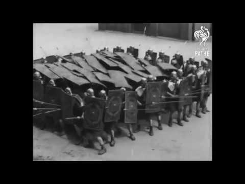 Реконструкция римских легионеров. 1910-1919 год. видео