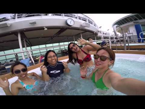 Will & Chelle Asian Cruise 2015