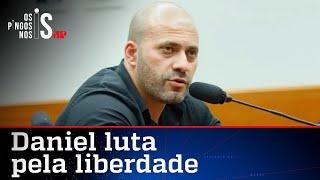 Daniel Silveira pede novamente que Moraes revogue prisão