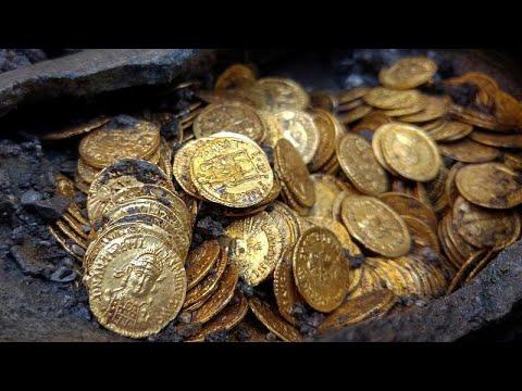 Εκατοντάδες χρυσά ρωμαϊκά νομίσματα εντοπίστηκαν σε υπόγειο θεάτρου…