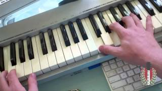 """How to Play """"Knocks Me Off My Feet"""" by Stevie Wonder on Piano"""