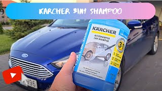 Karcher 3in1 shampoo test