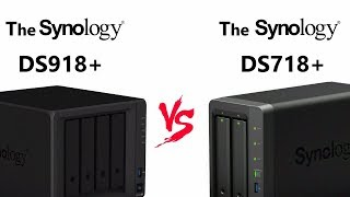 The DS718+ NAS vesrus DS918+ Synology Flagship 2-Bay vs 4-Bay NAS Comparison with Eddie the WebGuy