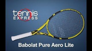 Babolat Pure Aero Lite Tennis Racquet 2019 video