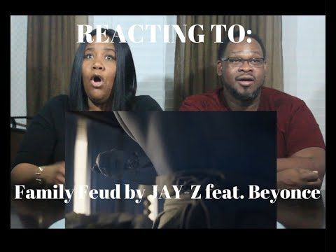 JAY-Z Family Feud ft. Beyoncé REACTION