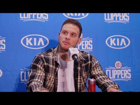 Blake Griffin Postgame Press Conference vs. Rockets | 1-15-18