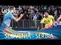 Video for slovenia serbia in tv
