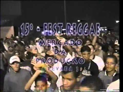 NIZINHO RASTA divulgando o reggae em Maceió na década de 90