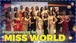 Miss World Philippines 2016 Final Screening part I