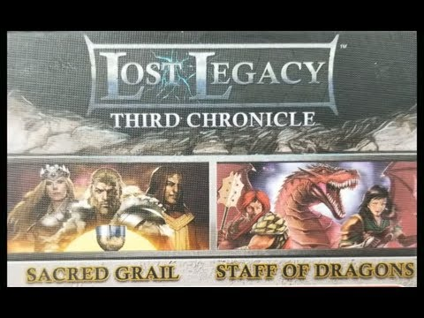 Lost Legacy: Third Chronicle - Sacred Grail & Staff Of Dragons - Overview