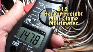 Harbor freight cen tech 11 function digital multimeter 13 harbor freight mini clamp multimeter a must have in any tool box fandeluxe Image collections