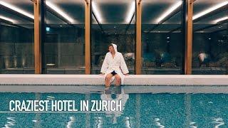 CRAZIEST HOTEL IN ZURICH!