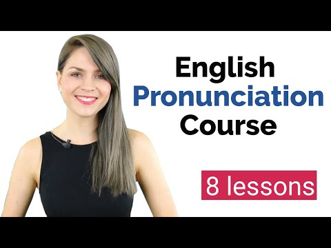 Learn English Pronunciation Course for Beginners | English Vowel Sounds | 8 Lessons