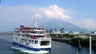 四国から友達がやってきた!鹿児島市内&桜島観光へ-Sightseeinginsakurajimavolcano,Kagoshima