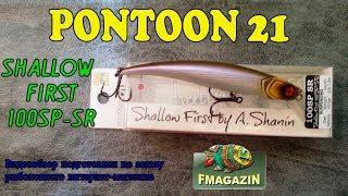 Pontoon 21 shallow first 100sp-sr