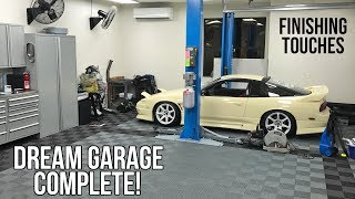 The Dream Garage Is COMPLETE!