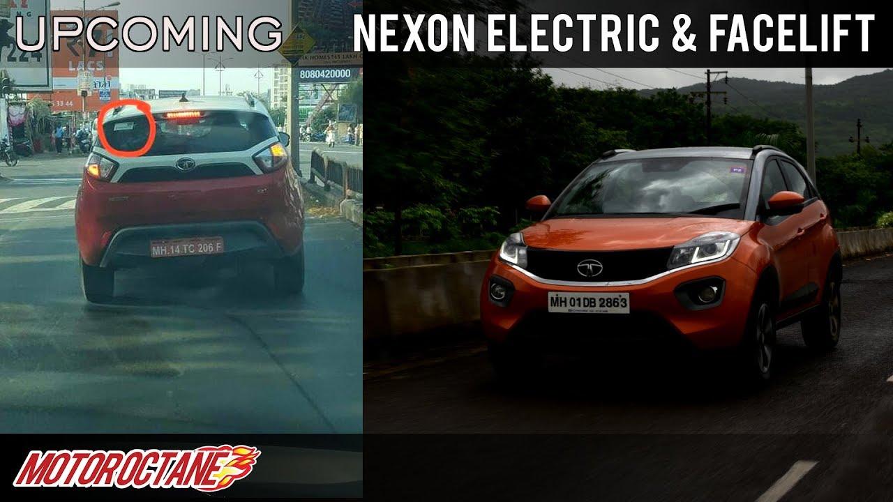 Motoroctane Youtube Video - Tata Nexon Electric and Facelift Coming | Hindi | MotorOctane