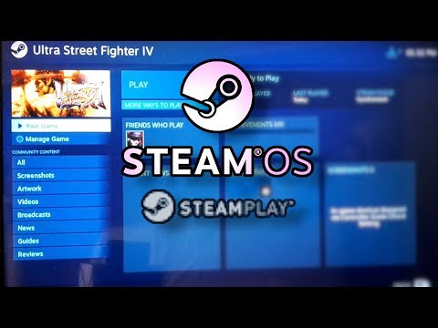 Early Steam Play test : Ultra Street Fighter 4 on SteamOS with Proton