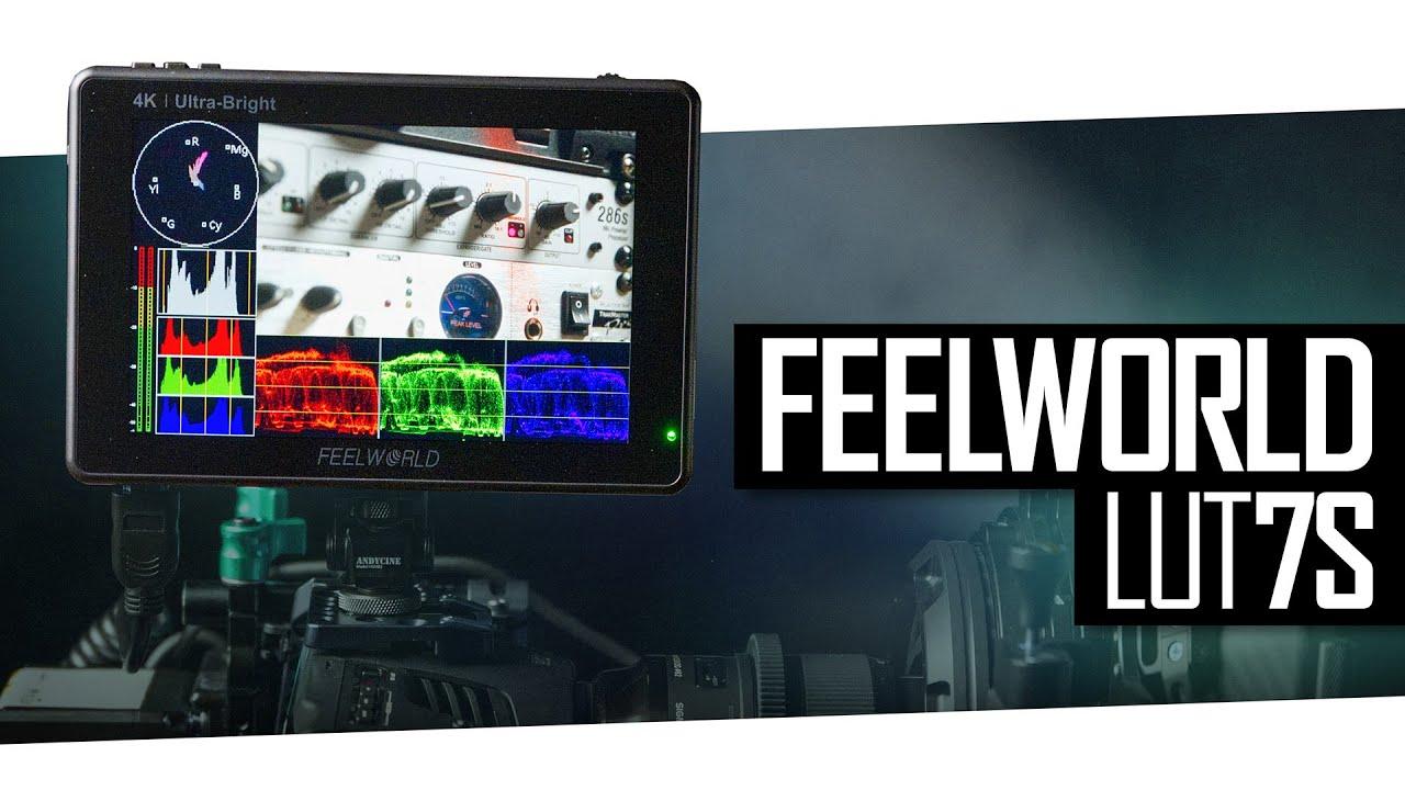 "מוניטור SDI מסך מגע 7"" Feelworld LUT7S"