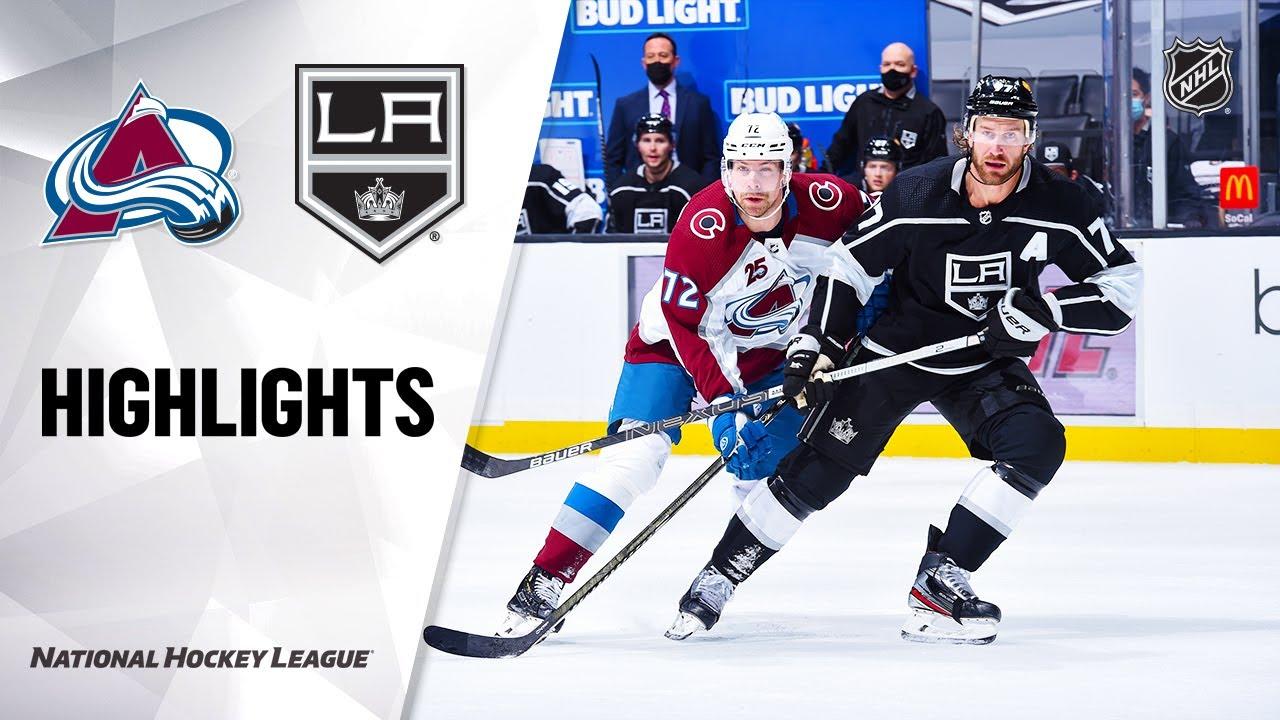 Avalanche vs Kings | Tuesday, January 19, 2021