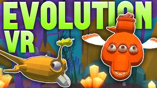 Evolution VR - Building Our Creature! - Spore-like Game In Virtual Reality - Evolution VR Gameplay