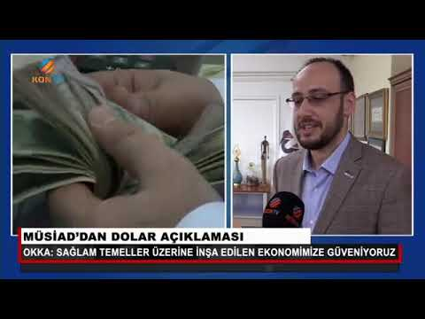 MÜSİAD'dan Dolar Açıklaması