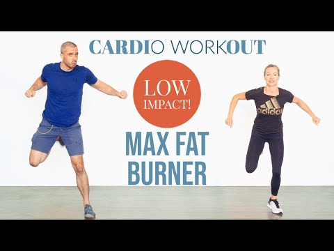 fat burning high intensity low impact home cardio