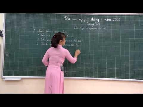 Tiểu học Tri Phú - Tiếng việt - lớp 5 - Ôn tập về quan hệ từ