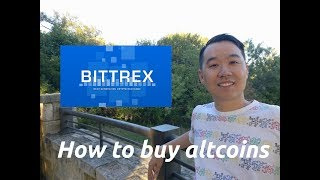HOW TO: Buy Altcoins Using Bittrex Exchange! (In Under 5 Minutes)