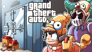 GTA 5 Simpsons Mods Heist Gone Hilariously Wrong