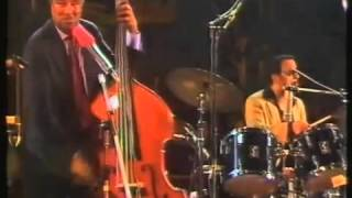 "Ray Brown, Gene Harris  Grady Tate, in ""Take The A Train"", Live, Jazzfestival,Bern, 1985."