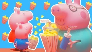 Peppa Pig Official Channel | Peppa Pig Stop Motion: Peppa Goes to Theatre  | Peppa Pig Stage Playset