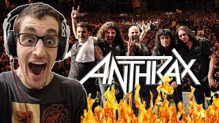 "Hip-Hop Head's FIRST TIME Hearing ANTHRAX: ""Madhouse"" REACTION"