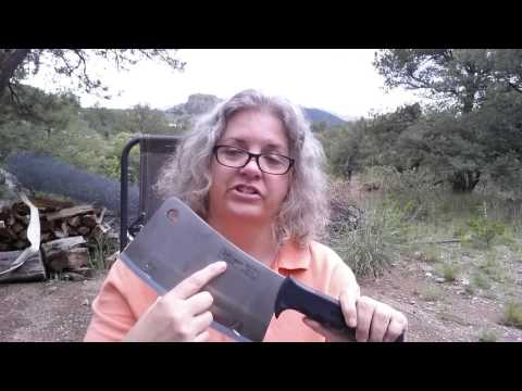 Slitzer CTCLVR Professional Chef's Heavy-Duty Cleaver review