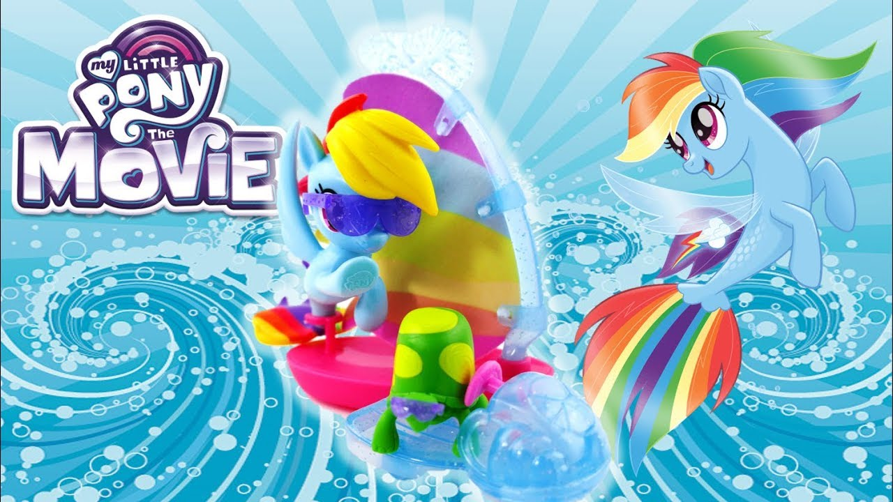My Little Pony the Movie Toys Rainbow Dash Undersea Sports